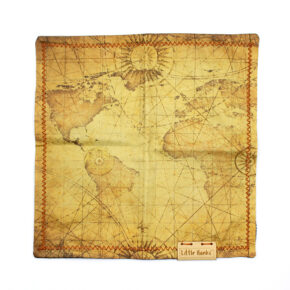 Little Hanks Vintage Map
